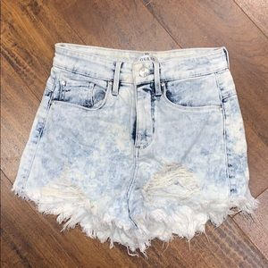 🔥 SALE 🔥 Guess high waisted tie dye shorts